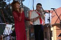 Na posledním koncertu Hranického kulturního léta se představil holandský orchestr Workshop Oldtimers společně s taneční skupinou Oldies