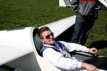 pilot Radek Krejčiřík z Aeroklubu Hranice