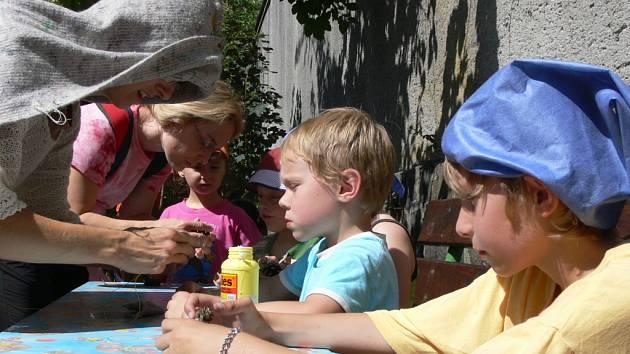 V Dráčku děti vítaly léto.