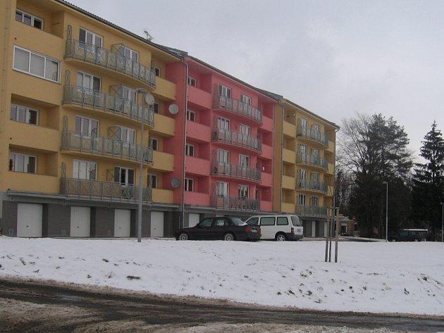 Plánovaná výstavba domu v Hranicích bu- Foto: Michaela Majerová de umístěna v sousedství novostavby z roku 2007.