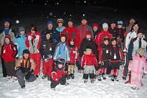 Bohatá sněhová nadílka rovněž umožnila dokončit sledovaný seriál závodů v Hlubočkách u Olomouce City rodina,