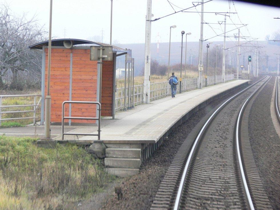 Tak vypadá  nejvytíženější úsek trati Hranice – Prosenice z pohledu strojvedoucího.