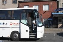 ČD bus v Hranicích