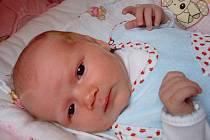 Gabriela Gajdošová, Středolesí, narozena 1. června v Přerově, míra 52 cm, váha 3 670 g