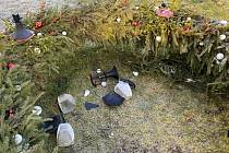 Vandalové zničili ve Skaličce vánoční výzdobu.