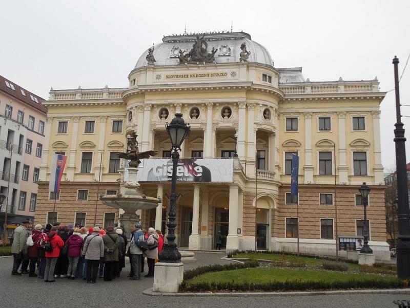 Slovenské národní divadlo v Bratislavě.
