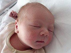 Kristián Valenta, Hranice, narozen dne 5. února 2015 v Přerově, míra: 53 cm, váha: 3970 g