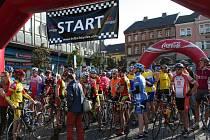 Osmý ročník cyklomaratonu Mamut Tour a pátý ročník Mamut Bike startuje v sobotu ráno z náměstíTGM v Přerově.