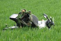 Řidič motocyklu, který havaroval mezi Hranicemi a obcí Olšovec, byl převezen s těžkým zraněním do olomoucké fakultní nemocnice.