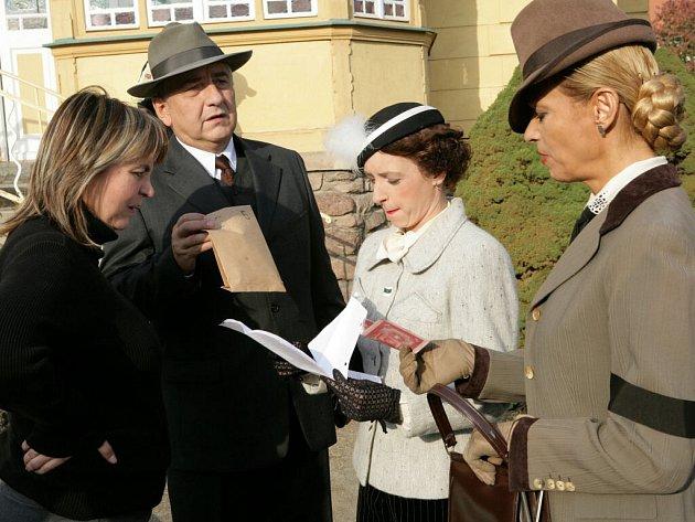 Režisérka Pavlína Moskalíková spolupracuje na nové řadě seriálu i s Miroslavem Donutilem, Tatianou Vilheimovou a Danou Hostinskou.
