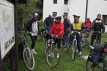 Na státní svátek, v úterý 8. května, vyrazili cyklisté na poznávací vyjížďku po vodních mlýnech na Hranicku.
