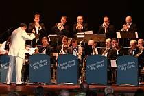 Česká hudební legenda Gustav Brom Big Band vystoupila v Hranicích v rámci Evropských jazzových dnů.