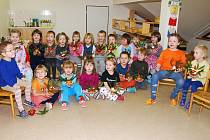 Děti v prosenické školce si vyprávěly o vánočních zvycích a tradicích.