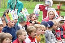 V mateřské škole Klíček se loučili s předškoláky.