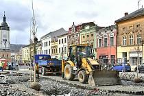 Na procházce Hranicemi - oprava náměstí
