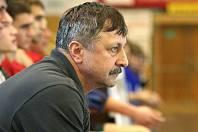 Trenér Jaroslav Hudeček.
