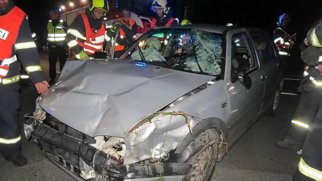 Dopravní nehoda v Partutovicích