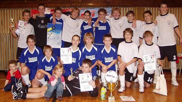 Starší žáci SK Hranice A na Sportaco Cupu.