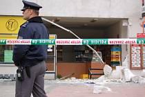 Ve středu časně ráno uloupili bankomat ze zdi pekárny v Přerově-Předmostí neznámí pachatelé.