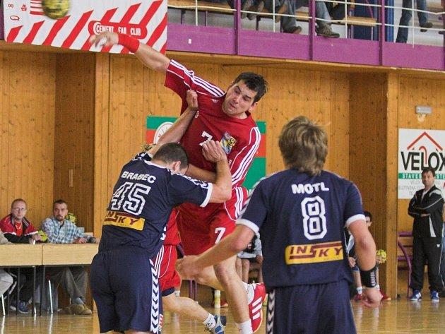 Michal Hradil zatížil konto Lovosic šesti brankami.