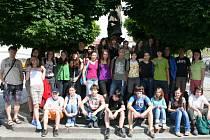 Jubilejní návštěvnicí se stala třídní učitelka gymnázia z Frýdku Místku, která přijela do Lipníku se svými studenty.