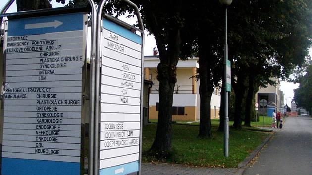 Hranická nemocnice.