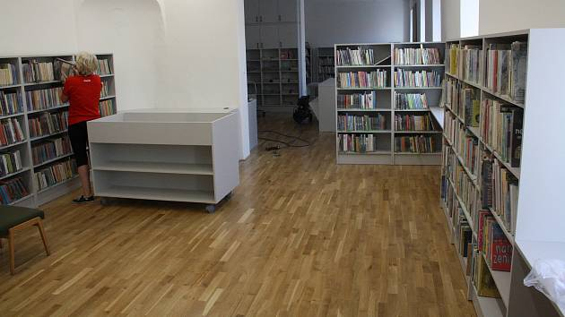 Hranická knihovna se připravuje na znovuotevření