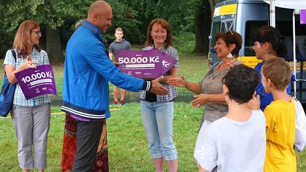 Vítězný tým Dětský domov a Školní jídelna Hranice nachodil celkem 100 691 847 kroků