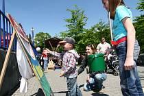 Slavnostní otevření lázeňské kolonády v Teplicích nad Bečvou doprovázel bohatý program pro děti i dospělé.