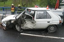 Alkohol u všech aktérů nehody vyloučila dechová zkouška.