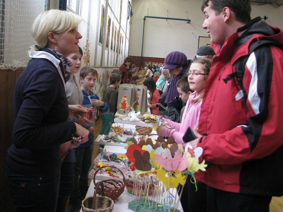 Velikonoční jarmark na Základní škole a Mateřské škole Struhlovsko