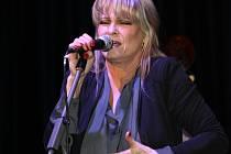 Známá francouzsko-česká zpěvačka Chantal Poullain v Hranicích