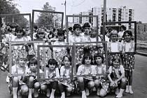 Spartakiáda v roce 1980 - mladší žákyně.