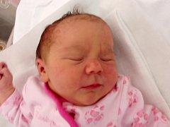 Adéla Štefanová, Zářičí, narozena dne 21. října 2014 v Přerově, míra: 48 cm, váha: 3404 g