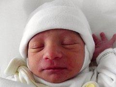 Petr Mirga, Přerov, narozen dne 4. prosince 2013 v Přerově, míra: 44 cm, váha: 1 966 g