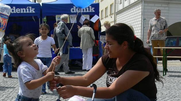 Putovní akce Den s Deníkem zavítala v pátek 1. června do Lipníku nad Bečvou.