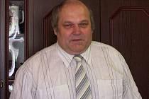 Antonín Novosád ve své pracovně.