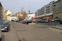 Žerotínovo náměstí v Přerově.