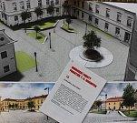 č.19. Autor: Ondřej Bělica, Martin Blažek. Návrh památníku TGM v Hranicích