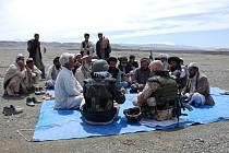 Jedním z míst, kde jednotka civilně-vojenské spolupráce CIMIC/PSYOPS působila, je i Afghánistán