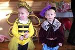 Karneval ve Velké si nejvíce užívaly děti.