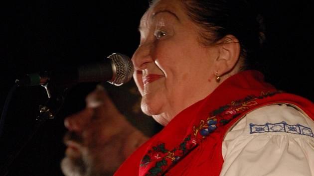 Zimní koncert Fleretu s Jarmilou Šulákovou (na snímku) pořadatelé obnovili po více než roce.