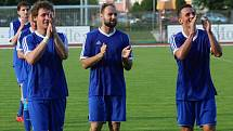 Fotbalisté Ústí slaví v úvodním kole nového ročníku vysokou výhru. Ilustrační foto