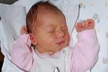 Dominika Vitonská, Hranice, narozena 24. února 2010 v Přerově, míra 50 cm, váha 3 480 g