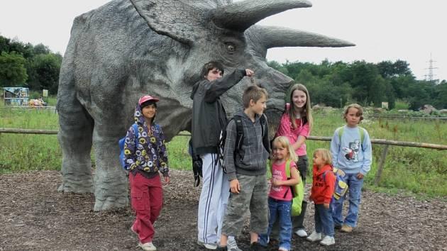 Děti z Domova v Hranicích si užívají na jednom z výletů