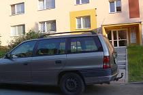 Parkování na Hromůvce