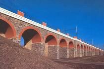 Jezernický viadukt.