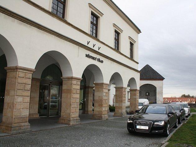 Městský úřad v Hranicích. Ilustrační foto.