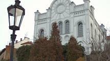 Synagoga v Hranicích.
