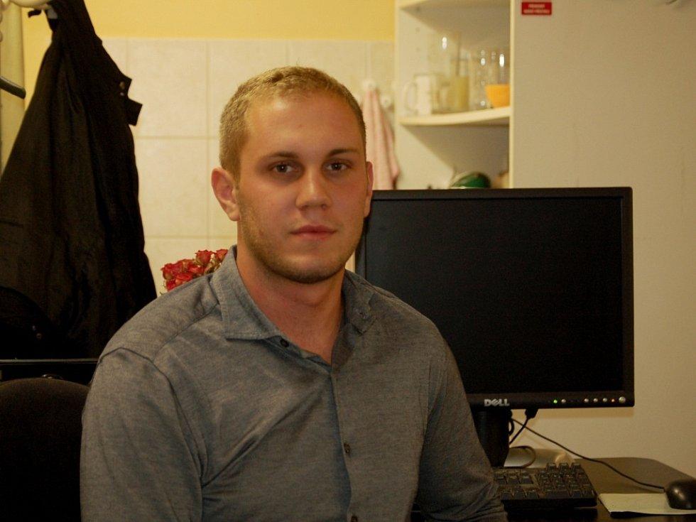 Dvaadvacetiletý Jakub Voharek z Hranic byl ve čtvrtek oceněný za záchranu pěti lidí